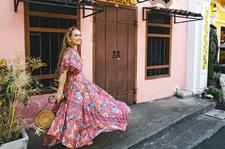 Wiosenne sukienki w stylu boho