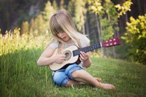 nauka gry na gitarze dla dzieci