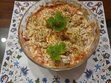 Sałatka kebab - gyros