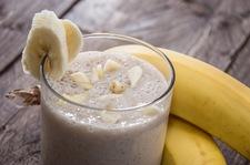 Bananowy shake śniadaniowy