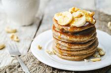 Bananowe placuszki z dwóch składników