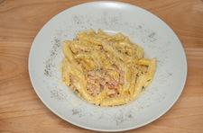 Makaron w sosie z gorgonzoli