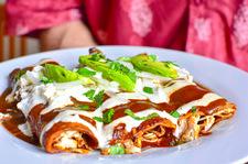 Enchiladas - obiad w meksykańskim stylu