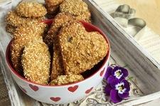 Ciasto owsiane z sezamem