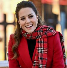 Kate Middleton przekonuje, że szkocka krata to najmodniejszy wzór sezonu