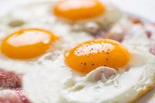 Hiszpańskie jajka sadzone