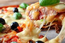 Sycąca pizza bez spodu