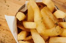 Wyraziste frytki bez grama soli
