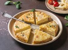 Frittata z ziemniakami czyli włoskie śniadanie w polskim wydaniu
