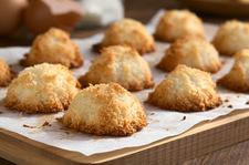 Kokosowe ciasteczka bez glutenu i laktozy