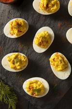 Wegańskie jajka na twardo
