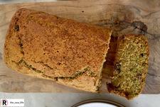 Znana szefowa kuchni zdradza przepis na chleb z cukinii