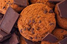 Ciasteczka z gorzką czekoladą