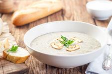 Zupa pieczarkowa po francusku