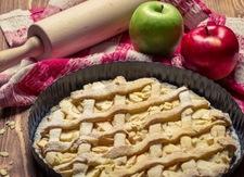 Pyszna tarta z jabłkami