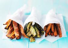 Warzywne frytki z przyprawami