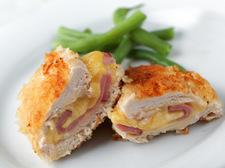 Piersi z kurczaka z szynką i serem