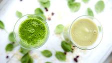 Zielone smoothie na dwa sposoby